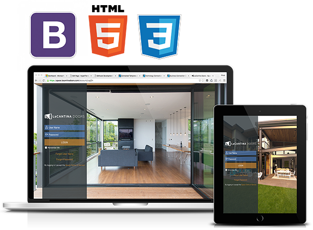We build custom Web Applications using HTML5, Bootstrap CSS Framework