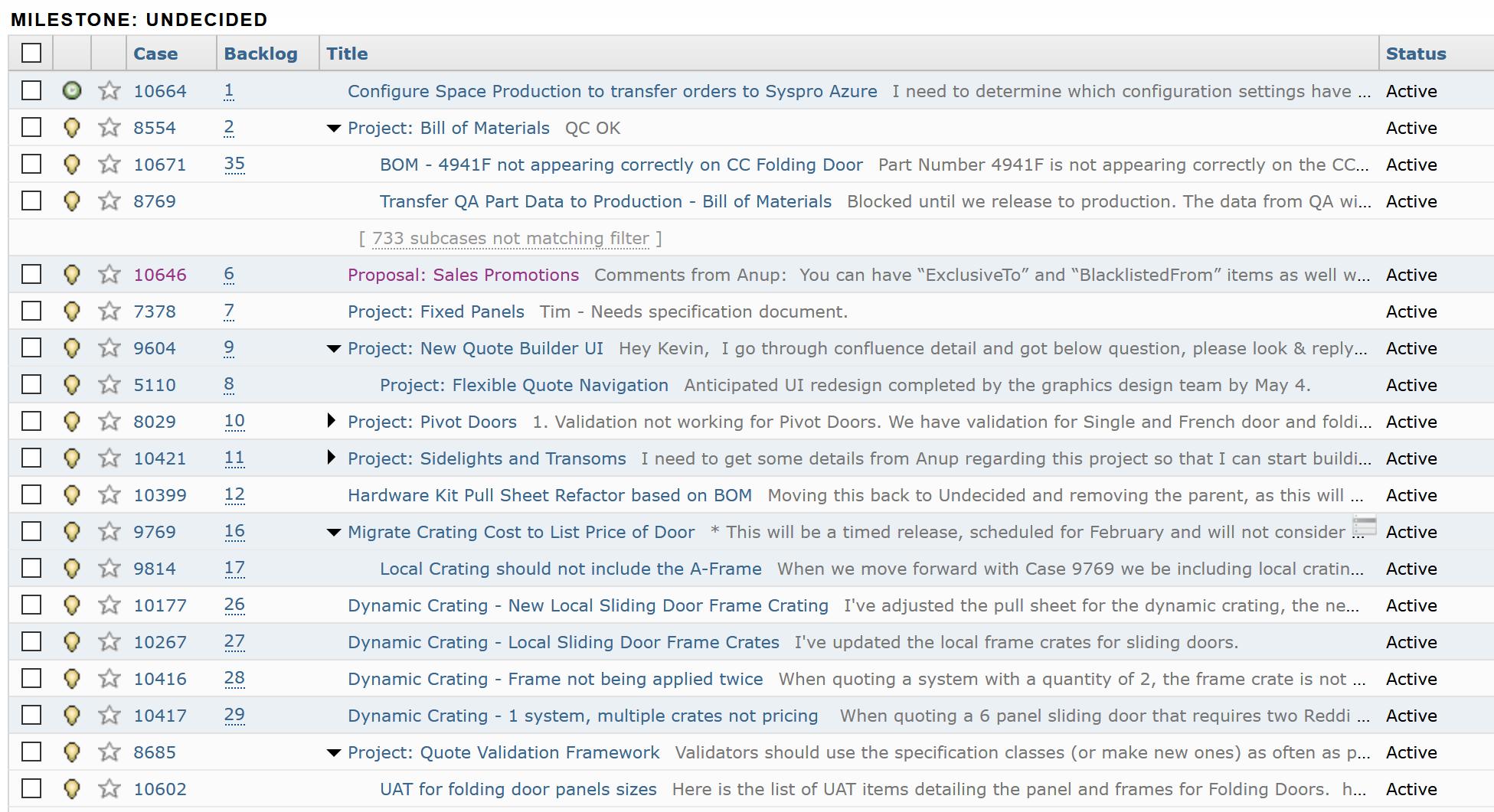 FogBugz Task Tracking Software